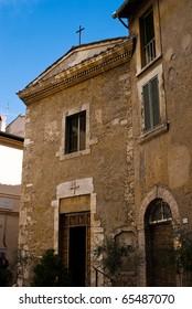 Church in Terni. Italy