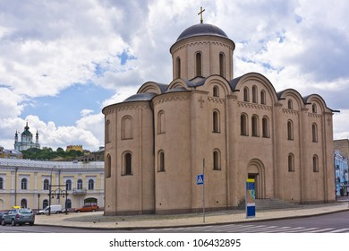 Church of the Theotokos of Pyrogoshcha. The most recent renovations was in 1998. Kiev, Ukraine