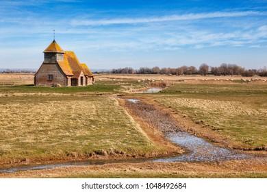 Church of Thomas A Becket, Romney Marsh, Kent, England, UK.