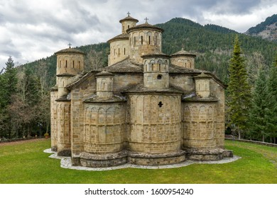 The church of Timios Stavros (Holly Cross) near the village of Krania in Thessalia, central Greece.