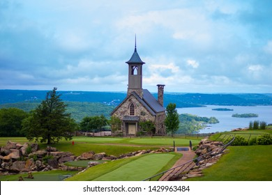 Church at top of the rock in Branson Missouri