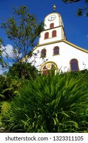 Church in Torshavn, Faroe islands