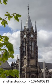 Church tower in Aberdeen, Scotland