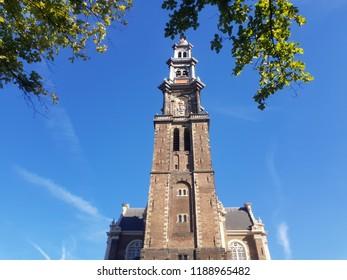 Church tower Amsterdam