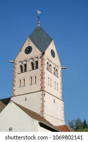 Church Tower in Andlau, France