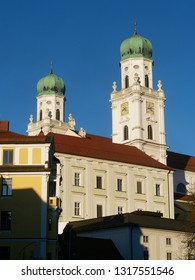 church Tower in Germany passau