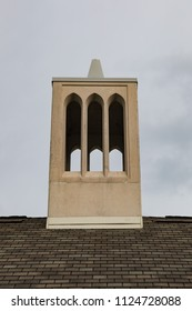 A church tower in Lakeshore Park in Knoxville Tennessee