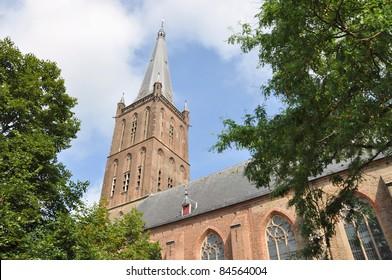 Church tower (Steenwijk, the Netherlands)