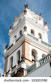 Church Tower in Sucre, Bolivia