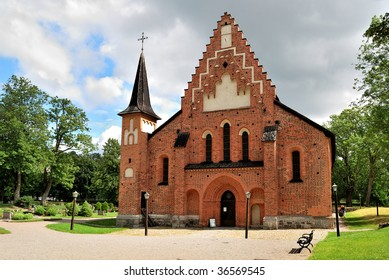 The Church of the town Sigtuna, Sweden