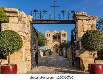The Church of the Transfiguration  is a Franciscan church located on Mount Tabor in Israel.
