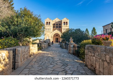 The Church of the Transfiguration  is a Franciscan church located on Mount Tabor in Israel. It is traditionally believed to be the site where the Transfiguration of Christ took place.