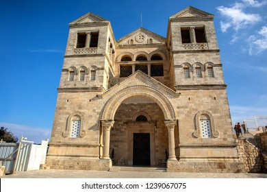 Church of the Transfiguration at mount Tabor