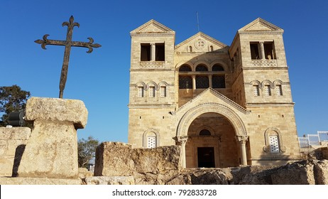The Church of Transfiguration on Mount Tavor Israel