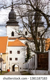 church Trebic in Czech Republic