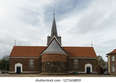 A church in Varde, Danmark