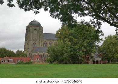 Church in Veere, Zeeland, the Netherlands