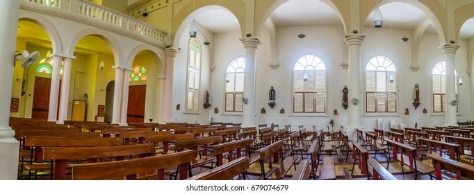 Church   views around Curacao a small Caribbean island