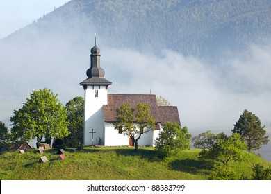 Church in village Martincek