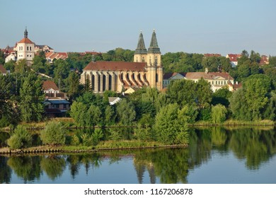 Church of the Virgin Mary in Roudnice nad Labem, Czech Republic, Europe.