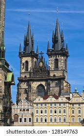 Church of the Virgin Mary or Tyn Church - one of the main symbols of Prague