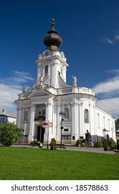 Church in Wadowice. The Birthplace of Pope John Paul II