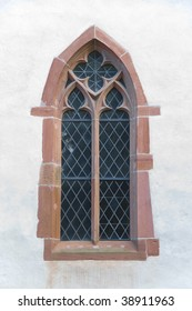 Church window in Basel, Switzerland