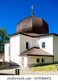 church in Zelezna Ruda, Sumava, Czech Republic