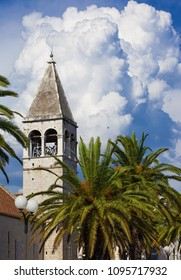 Churches in the Historic center of Trogir town, Croatia