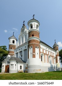 The church-fortress  built in honour of Virgin Mary, Murovanka, Grodno region, Belarus