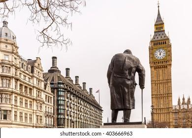 Churchill and Big Ben