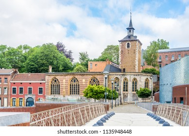 Churh of Saint Servacius in the streets of Liege in Belgium