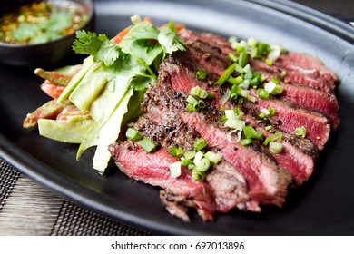Churrasco tenderloin – slide grilled beef with local Thai spicy sauce