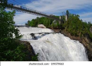 Chute Montmorency waterfall, Quebec, Canada