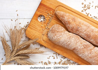 Ciabatta with baguette