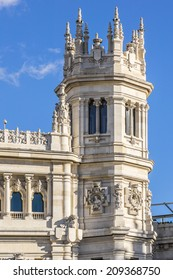 Cibeles Palace (Palacio de Cibeles, 1993): City Hall of Madrid (formerly Palace of Communication), cultural center of capital and iconic monument of the city.