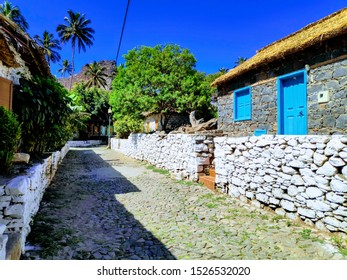 Cidade velha Cape Verde city center and Beach