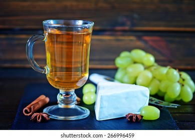 cider and cheese