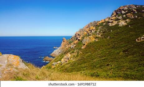 Cies Islands of Galicia in Spain