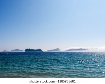 Cies islands and a transatlantic, Galicia, Spain