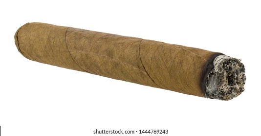 Cigar isolated on white background