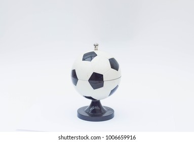 Cigarette holder - in a football - funny table accessory