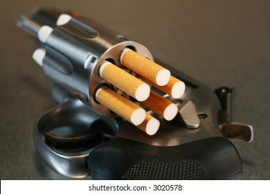 Cigarette Revolver