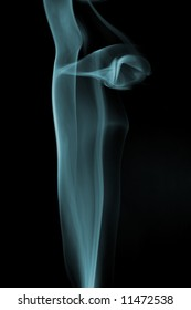 Cigarette smoke background