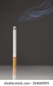 cigarette smoking on the table
