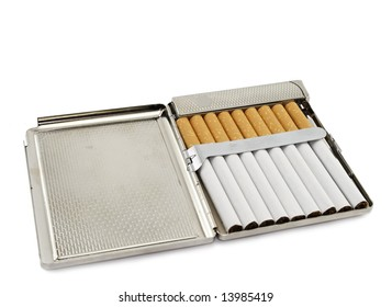 cigarette-case isolated on white background
