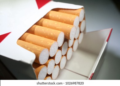 Cigarettes Close Up