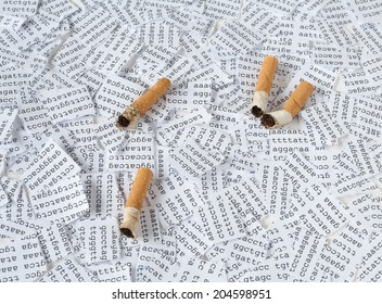 Cigarettes and DNA