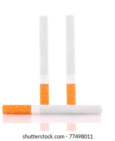 cigarettes isolated on white