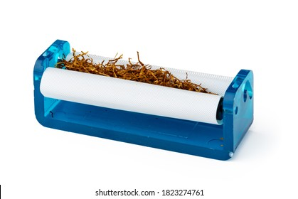 Cigarettes rolling machine isolated on white background